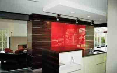 Küchenmöbel als Raumteiler / Trennwand