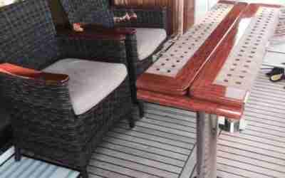 Möbel für Yachten